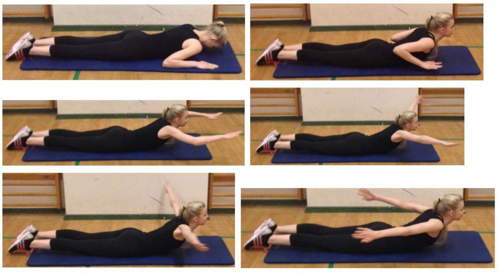 pilates bold øvelser